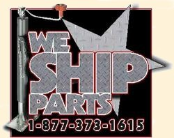 We ship parts.  Call for more info.